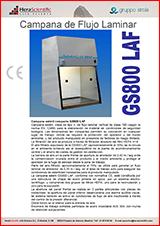 Cabina Flujo Laminar GS800 LAF